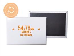 Magnes prostokąt LUX 54x78mm